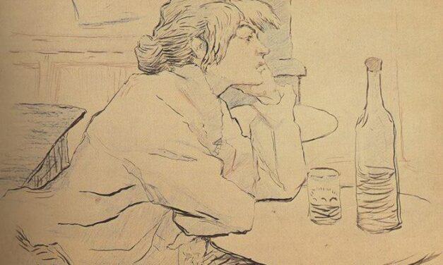 Milano, 16.2.2018. Mostra a Palazzo Reale. Henri de Toulouse-Lautrec: Guele de bois.